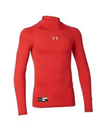 UNDER ARMOUR/アンダーアーマー/キッズ/18S UA HEATGEAR ARMOUR COMPRESSION LS MOCK Y/500889720