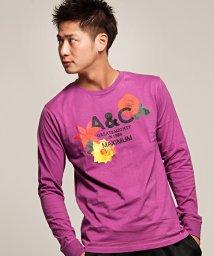 anchor craft/anchorcraft【アンカークラフト】バラプリントクルーネック長袖Tシャツ/500890614