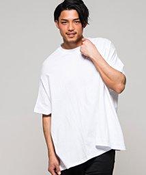 CavariA/CavariA【キャバリア】バックプリントビッグシルエットクルーネック半袖Tシャツ/500890945