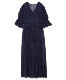 Lily Brown/小花刺繍コットンワンピース/500891039