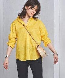 UNITED ARROWS/○UBCB リネン レギュラーカラーシャツ 18SS/500868202