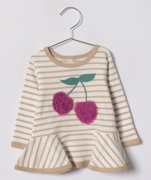 petit main/チェリーモチーフつきTシャツ/500868761