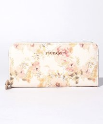 rienda/【rienda】VINTAGE ROSE FLOWER PRINT ラウンドジップウォレット/500869200