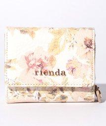 rienda/【rienda】VINTAGE ROSE FLOWER PRINT 三つ折り財布/500869202