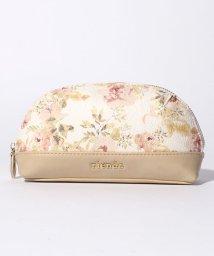 rienda/【rienda】VINTAGE ROSE FLOWER PRINT ラウンドポーチ/500869204
