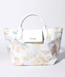 rienda/【rienda】AZALEA FLOWER PRINT トートS/500869207
