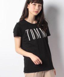 TOMMY JEANS/コットンブレンドロゴTシャツ/500870542