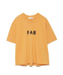 Lily Brown/スパンコールロゴTシャツ/500891575