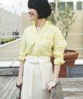 MACPHEE/フレンチリネン レギュラーシャツ/500891588