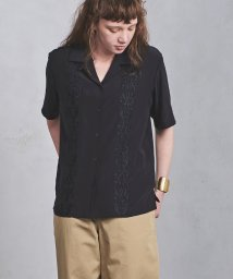 UNITED ARROWS/UGMSC 刺繍 オープンカラーシャツ/500892718
