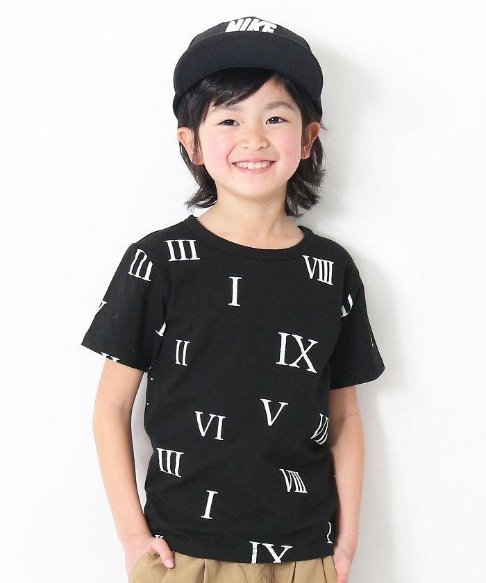 eccd8c1da8aa7 devirock(デビロック) 総柄プリント半袖Tシャツ カットソー DT-240