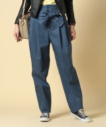beautiful people/cotton twill paperbag waist pants/500654115