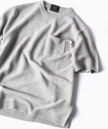 SHIPS MEN/SC: SAFILIN リネン ニット Tシャツ/500894431