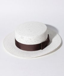 Apuweiser-riche/リボン付カンカン帽/10268820N