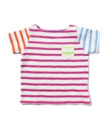 こどもビームス/こども ビームス / Daily Cut クレイジーパターン ボーダー Tシャツ 18 (ユニセックス 80~90cm) /500838196
