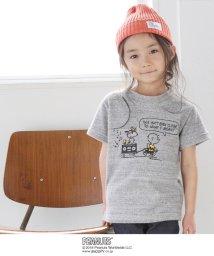 coen/【coen キッズ / ジュニア】(SNOOPY/スヌーピー)パイルフェスTシャツ(100~150cm)/500886524