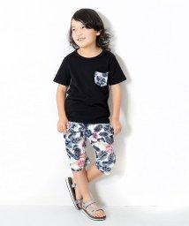devirock/柄ポケット半袖Tシャツ&総柄プリントサルエルパンツ セットアップ/500892803