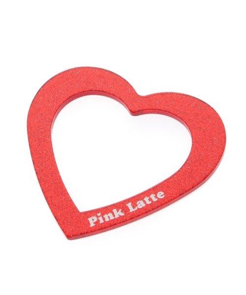PINK-latte(ピンク ラテ)/ラメクリアハートバングル/99990932021166