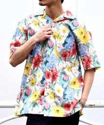 SHIPS MEN/SU: 【LIBERTY】オープンカラーシャツ/500896496