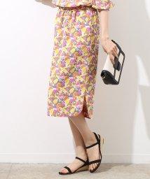 ROPE'/【セットアップ対応商品】リバティギャザータイトスカート/500843135
