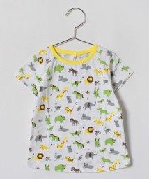 LAGOM/アニマル総柄Tシャツ/500849221