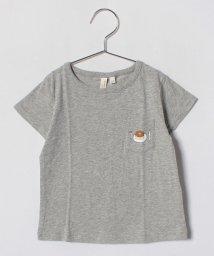 LAGOM/1ポイント刺繍ポケットTシャツ/500849222