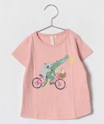LAGOM/動物自転車Tシャツ/500849223