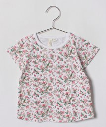 LAGOM/お花総柄Tシャツ/500849224