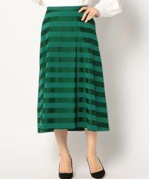 SHIPS WOMEN/PrimaryNavyLabel:サテンボーダースカート/500885950