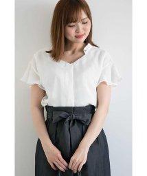 PROPORTION BODY DRESSING/ビジュー衿フレアースリーブブラウス/500894612