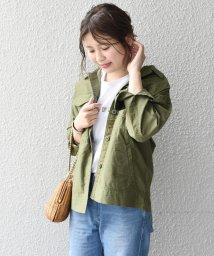 Khaju/Khaju:ミリタリーシャツジャケット/500897974