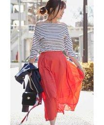 PROPORTION BODY DRESSING/《BLANCHIC》シャイニーヴィンテージスカート/500898093