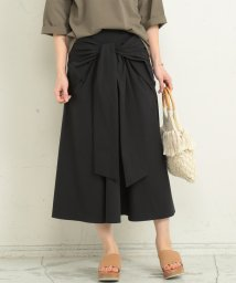 BEAUTY&YOUTH UNITED ARROWS/BY∴ リボンフレアスカート -手洗い可能-/500898833