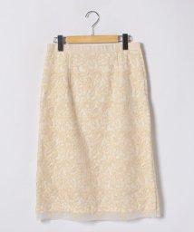 NEMIKAoriginal/フラワー刺繍タイトスカート/500822763