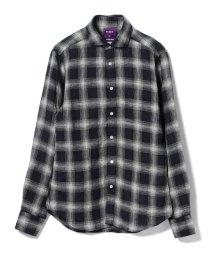 BEAMS MEN/BEAMS / リネン チェックシャツ/500843437