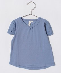 LAGOM/袖レースTシャツ/500880199