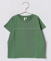 LAGOM/ロゴプリントドルマンTシャツ/500880201
