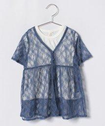 LAGOM/【セット】レースガウン+Tシャツ/500880206