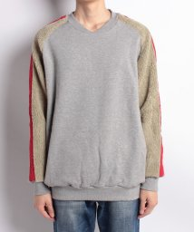 DISCOVERED/Boa sleeve sweat/500899327