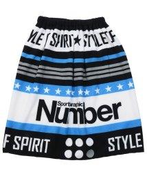 Number/ナンバー/キッズ/60cmマイクロファイバー巻きタオル/500900511