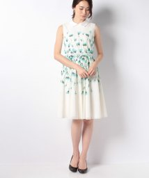 ELISA/【店舗限定】Tulle lace pois print ワンピース/500824119