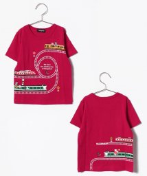 kladskap/動物×電車クルーネックTシャツ/500892387