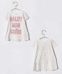 petit main/レースフレアTシャツ/500892391