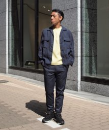 NOLLEY'S goodman/麻COOLMAXシャツジャケット/500895399