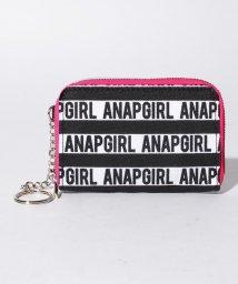 ANAP GiRL/ボーダーロゴコインケース/500896201