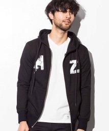AZ by junhashimoto/AZ by junhashimoto(エーゼイ バイ ジュンハシモト) ロゴデザインフードパーカ/500902821