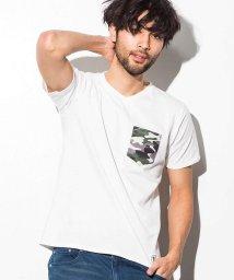 AZ by junhashimoto/AZ by junhashimoto(エーゼイ バイ ジュンハシモト) 総柄ポケット付Tシャツ/500902844