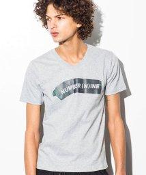 NUMBER (N)INE DENIM/NUMBER (N)INE DENIM(ナンバーナインデニム) テープロゴプリントTシャツ/500903094
