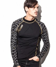 Roen/Roen (ロエン) 袖切り替えアイビーパターンコンプレッションインナー/500903158