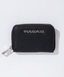 1PIU1UGUALE3/1PIU1UGUALE3(ウノピゥウノウグァーレトレ) レザーミニウォレット/ケース/500903403